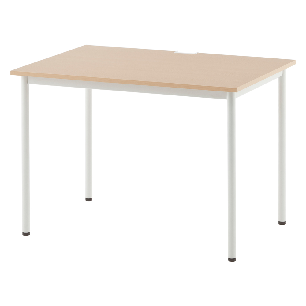 SHシンプルテーブル W1000xD700 ナチュラル SHST-1070NA【送料無料】アールエフヤマカワ RFyamakawa オフィスデスク テーブル 机 事務