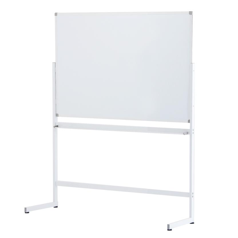 ホワイトボードW1200 片面 ホーロータイプ L字脚 / ホワイト SHWBH-1290ASWHLL 【送料無料】 アールエフヤマカワ RFyamakawa 脚付ホワイトボード 白板 掲示板 無地