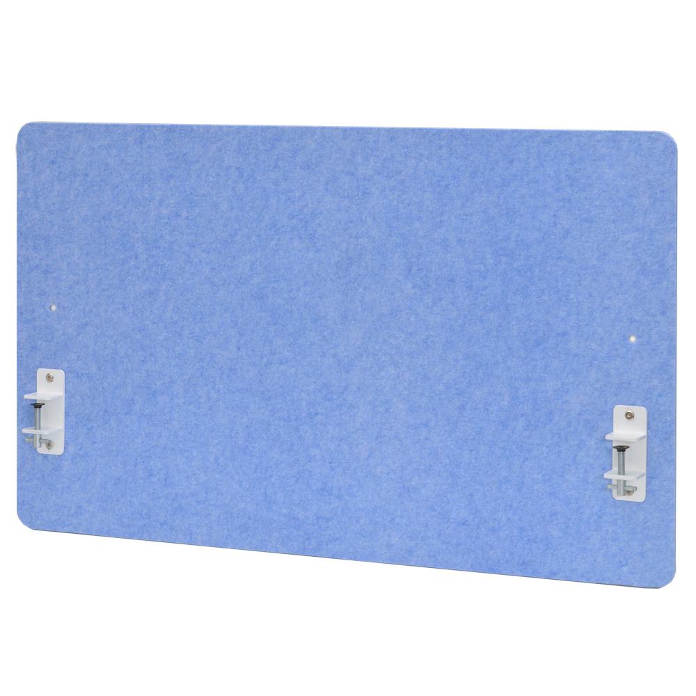 フェルトデスクトップパネルハイ W1000xH600 ブルー RFFDTPH-1060BL アールエフヤマカワ RFyamakawa 机上 衝立 スクリーン デスクパネル 仕切り ブラインド