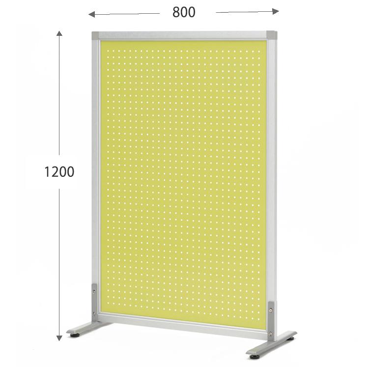 アールエフヤマカワ メタルスクリーン W800xH1200 ライムグリーン (アジャスター仕様)SHSCR-PLGNLAJ