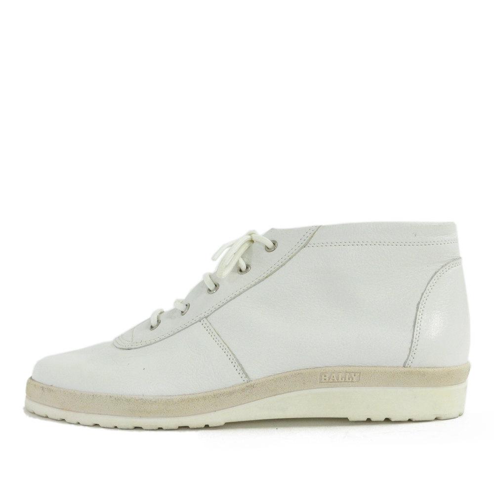 【中古】バリー ハイカットスニーカー靴/EU4 1/2 US 7/ホワイト/BALLY【オールシーズン】【♀】【B】【レディース】【RF2】■210696