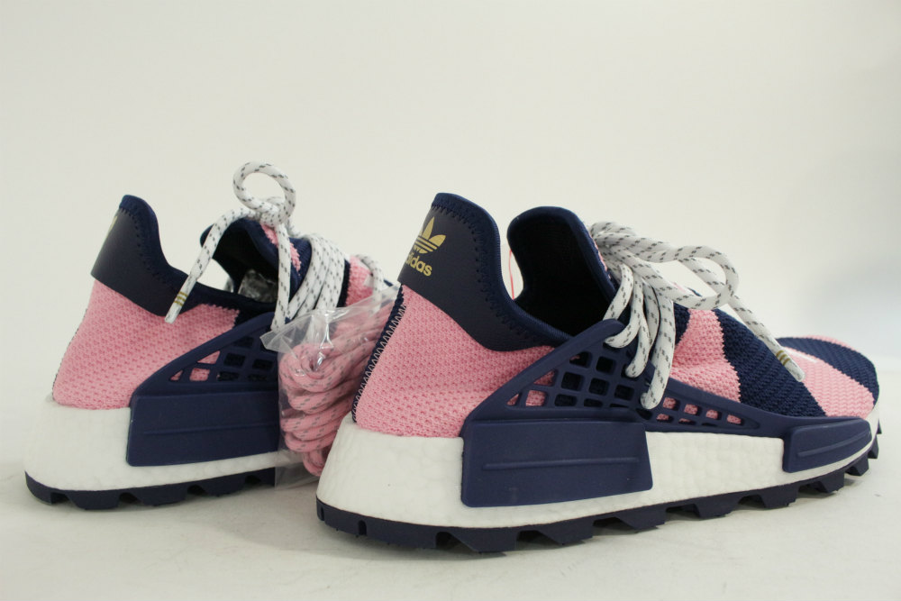 new concept 321d0 417fc Unused ★ 18AW Adidas PHARRELL WILLIAMS X adidas NMD HU, sneakers shoes  /G26277/28.0cm/ navy X pink X white /adidas ■ 221533