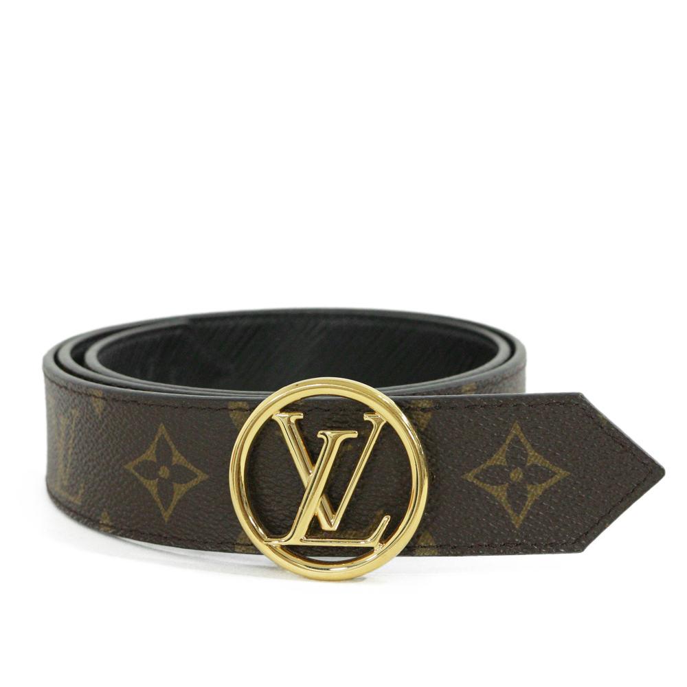 5d0507601e rfstore: Louis Vuitton monogram sun Tulle LV circle reversible 35MM ...