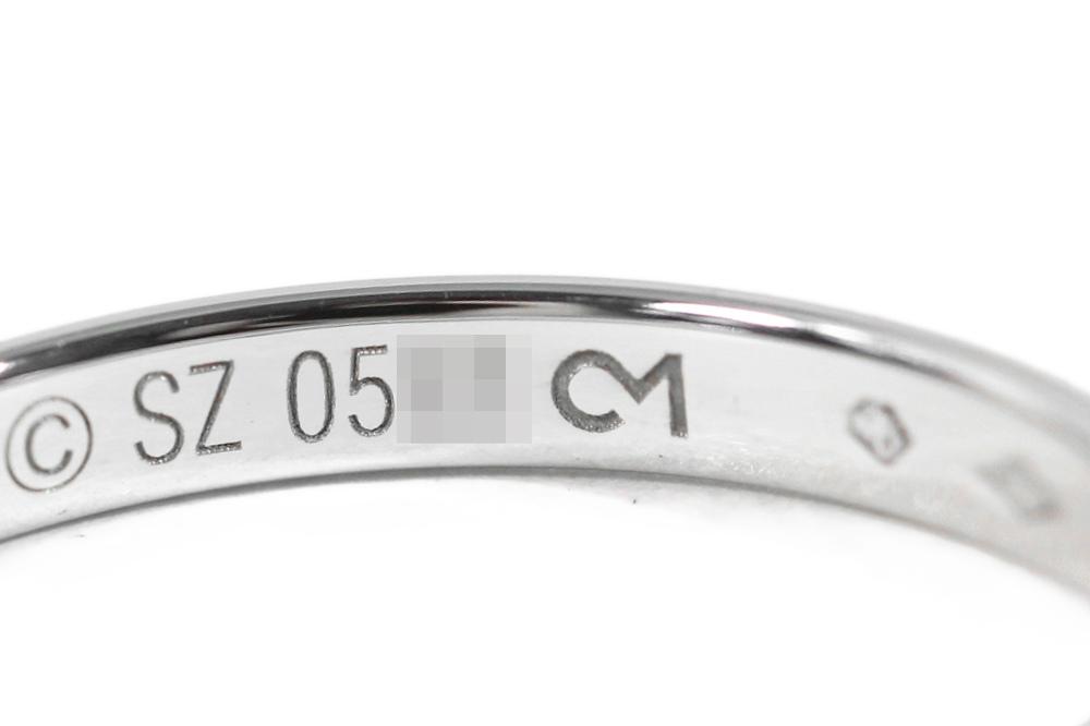 カルティエ ウエディングリング・指輪 Pt950 3 4g 15号55 B4012556 プラチナカラー Cartier ♂hrdQotsCxB