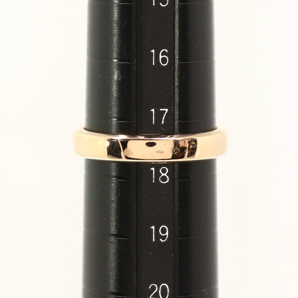 ヴァンクリーフアンドアーペル タンドルモン・マリッジ・リング・指輪 K18PG 750 5 4g 18号58 ピンクゴールド Van CleefArpels ♂♀Nユニセックスh190409RF1284332SzUVMp