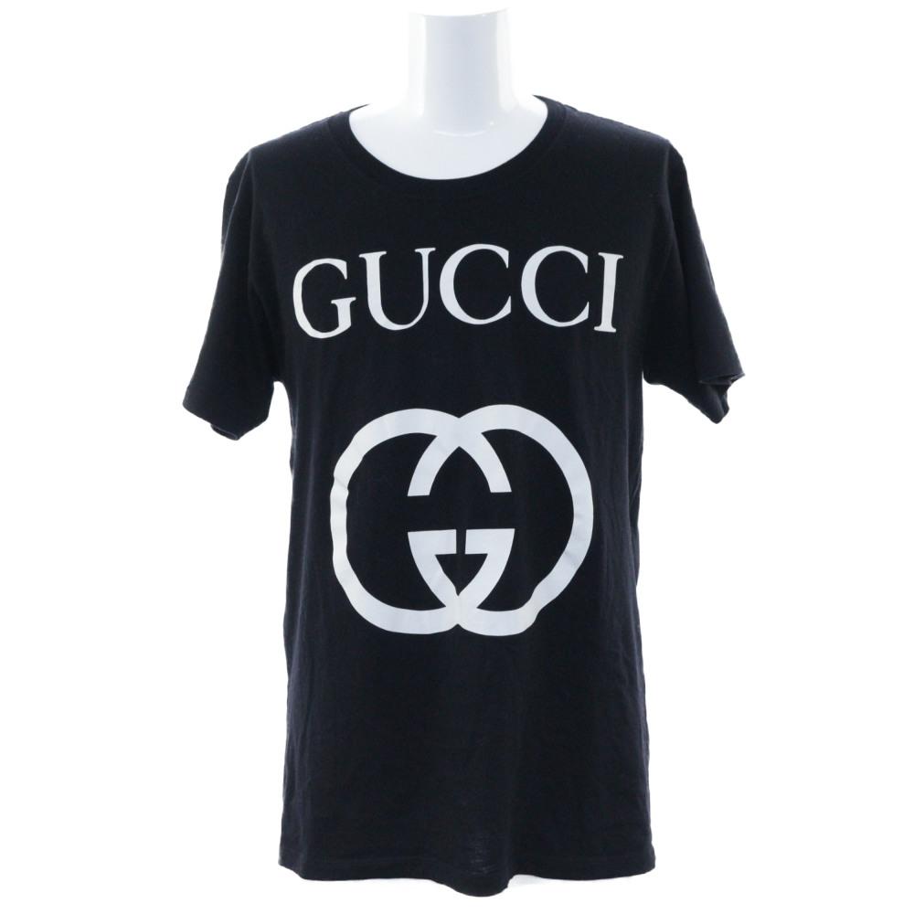 6a1974c32 Super beautiful article, Gucci interlocking grip G cotton over size T-shirt,  T ...