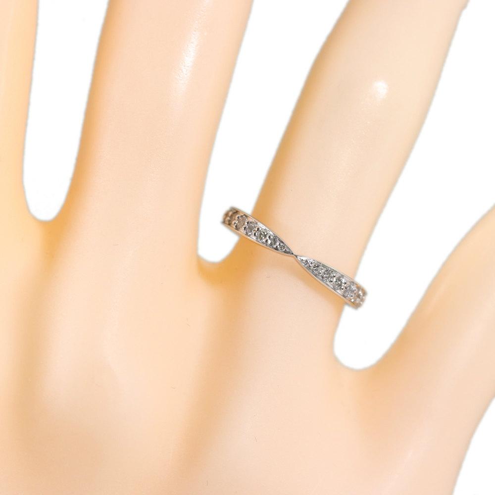 905aea9852009 Tiffany harmony /HARMONY, beads set diamond 20P, diamond (engage marriage)  ring, ring, natural /Pt950-2.0g/6.5 /#46.5/TIFFANY & Co * 293824.