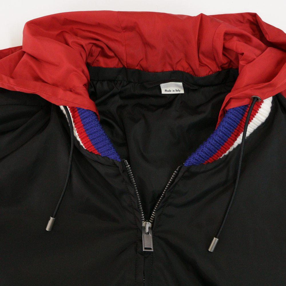 new style dbf91 8298e rfstore: Windbreaker blouson /473302/Z719B/48/ black X red ...