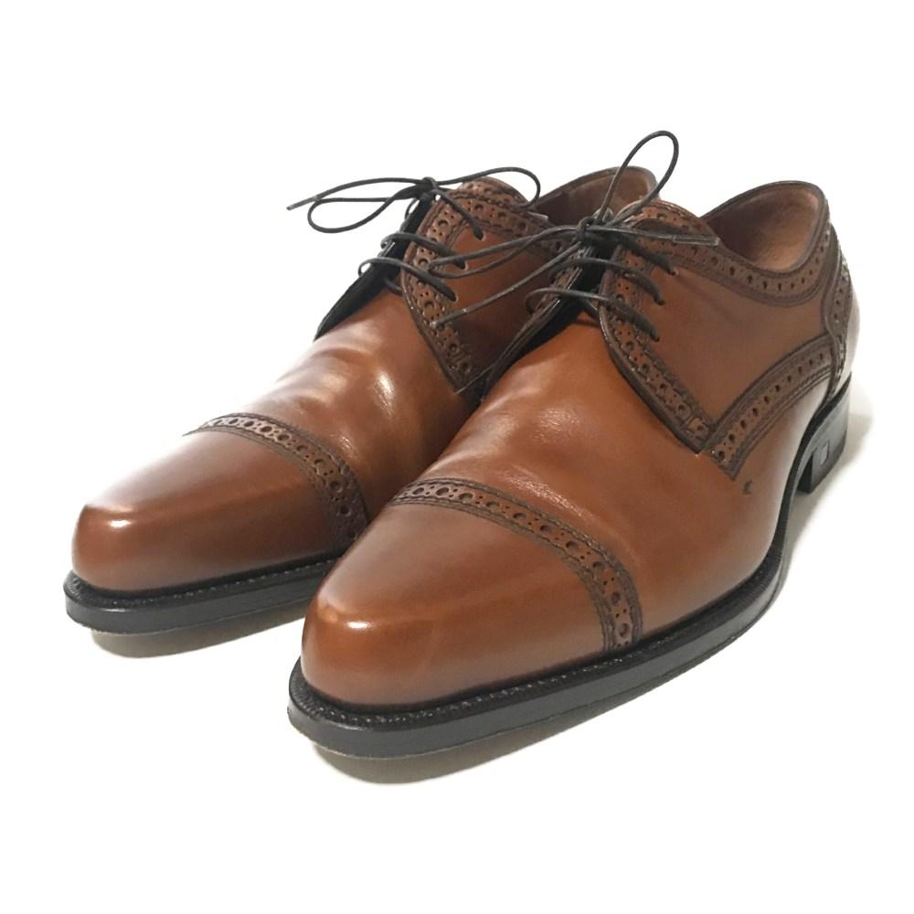 ルイヴィトン ビジネスシューズ 靴/6 1/2/ブラウン/LOUIS VUITTON【オールシーズン】【♂】【B】【メンズ】/b200511★■341945【中古】