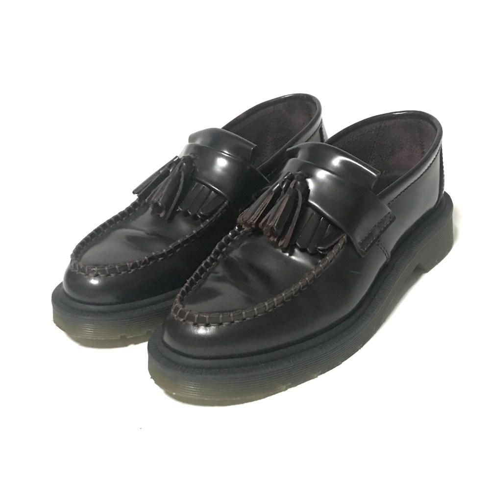 ドクターマーチン ADRIAN タッセル・ローファー 靴/14573601/EU 36/ブラウン/Dr.Martens【オールシーズン】【♀】【A】【レディース】/b200513★■342053【中古】