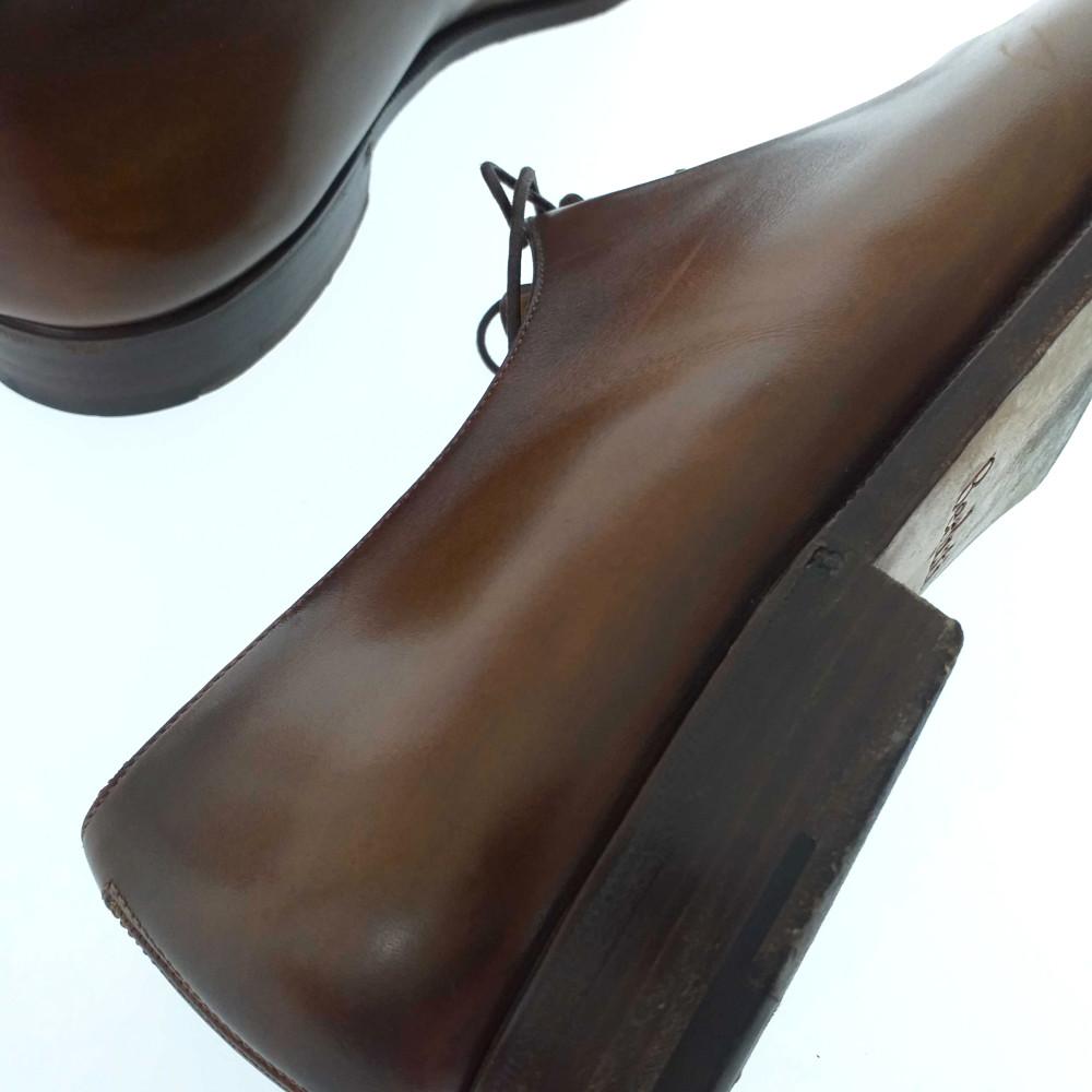 ベルルッティ パティーヌ・レースアップシューズ 靴 9 1 2 ライトブラウン Berluti ♂Bメンズb200523344654hQxdCtrs