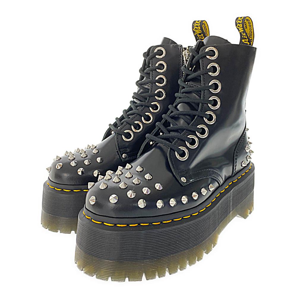 ドクターマーチン JADON MAX STUD・8ホールブーツ靴 スタッズ/25458001/UK3/ブラック/Dr.Martens【♀】【S】【レディース】/b200721★【RF1】■348548【中古】