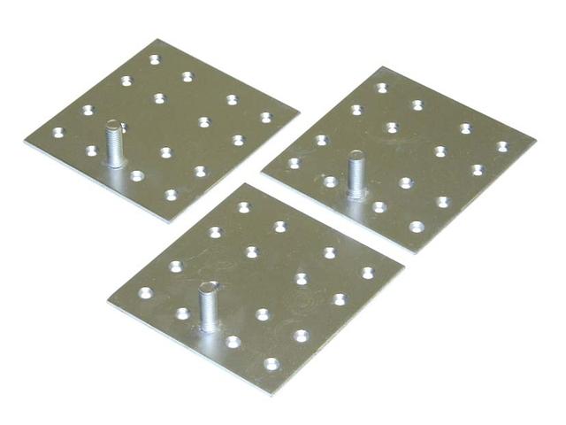 三菱電機 電気温水器 GZ-H12A 脚固定金具(木質床用・M12ネジ)
