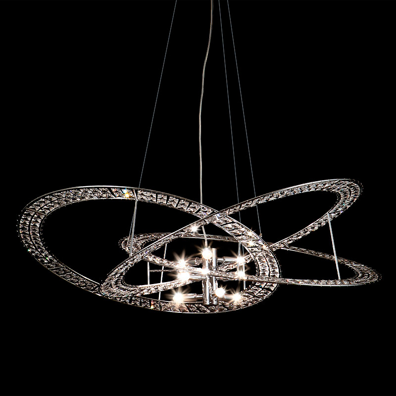 照明 おしゃれ 天井 トーヨーキッチンスタイル (TOYO KITCHEN STYLE) 照明 【SFHL-TRILOGY-L-LED】トリロジーL LED クリスタル フレーム クローム