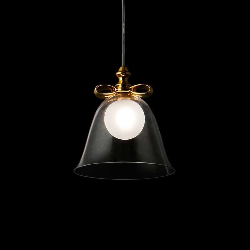照明 おしゃれ 天井 トーヨーキッチンスタイル (TOYO KITCHEN STYLE) 照明 【SFHL-BELL-S (GLD)】moooi ベルランプS シェード ガラス 1.5kg 消費電力 25W