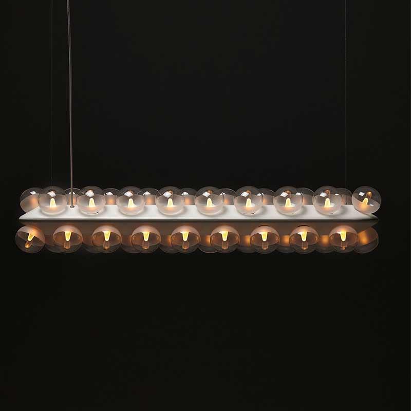 照明 おしゃれ 天井 トーヨーキッチンスタイル (TOYO KITCHEN STYLE) 照明 【SFHL-PROP-DOUBLE】moooi プロップライト ダブル シェード ガラスポリスチレン 本体重量 4.2kg