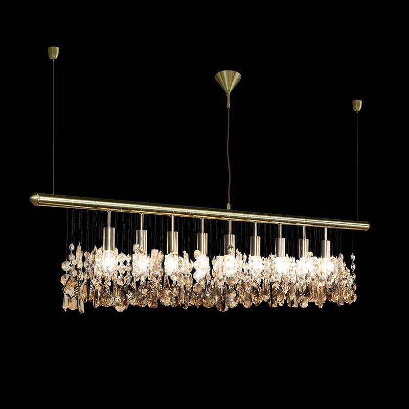 トーヨーキッチンスタイル (TOYO KITCHEN STYLE) 照明 【SFHL-CLK120GS-LED(BRS)】クランカーLED 120 ブラス 本体:スチール(クローム)オーナメント:ガラス カラー:ブラス
