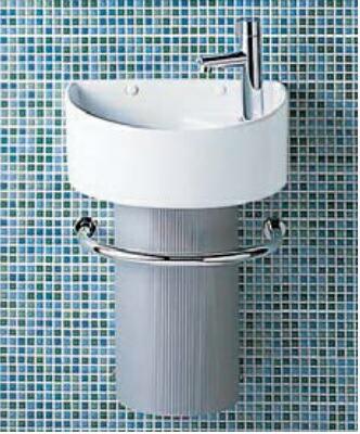 トイレ LIXIL INAX トイレ手洗器 狭小手洗シリーズ YL-C33DHC トラップカバータイプ 壁給水・壁排水 アクアセラミック