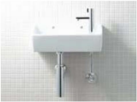 トイレ LIXIL INAX トイレ手洗器 狭小手洗シリーズ L-A35HG ボトルトラップ 手洗タイプ(角形)ハイパーキラミック 壁給水・壁排水