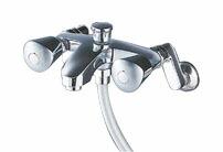 水栓金具 浴室用シャワー TOTO 水栓金具 浴室用シャワー用 【TMH20E2R】2ハンドル混合水栓 壁付けタイプ ※寒冷地用