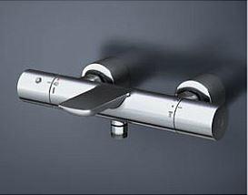 水栓金具 浴室用シャワー TOTO 水栓金具 浴室用シャワー用 TBV01405J 水栓金具 壁付サーモスタット ストレート脚