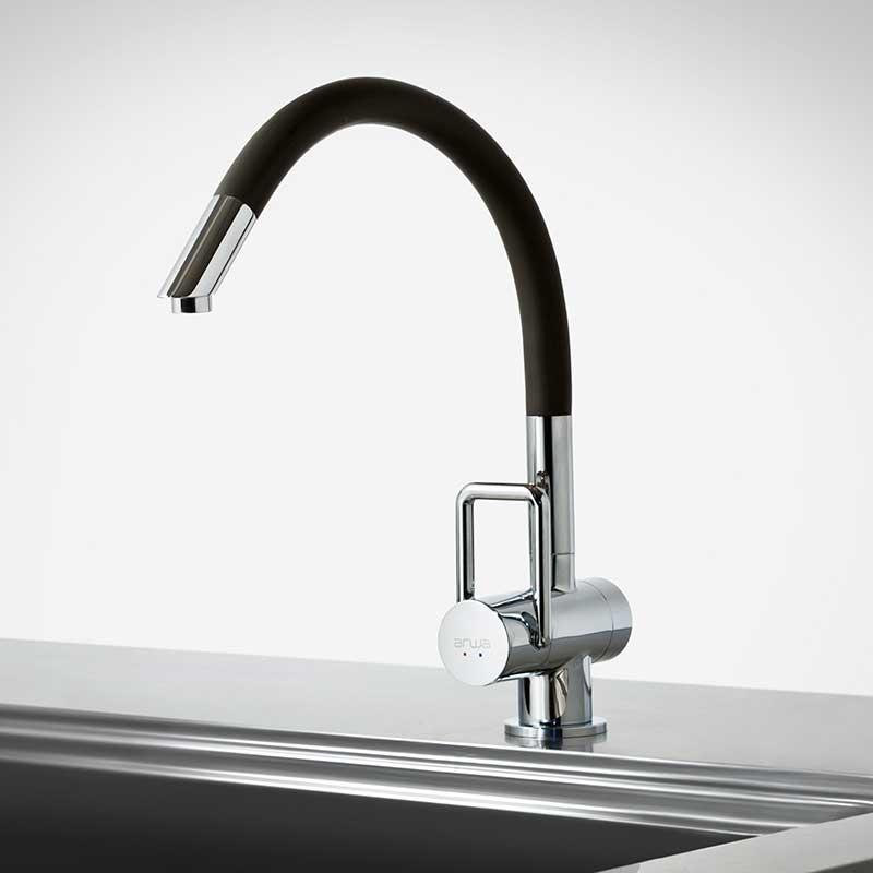 水栓 キッチン おしゃれ トーヨーキッチンスタイル (TOYO KITCHEN STYLE) 水栓 フレックス ARTFLEXB-BL