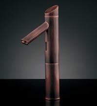 水栓 混合栓 カクダイ 水栓金具 【713-323】 センサー水栓(トール・ブロンズ)