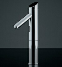 水栓 混合栓 カクダイ 水栓金具 【713-321】 センサー水栓(トール)
