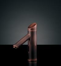 水栓 混合栓 カクダイ 水栓金具 【713-322】 センサー水栓(ブロンズ)