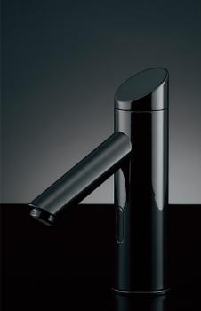 水栓 混合栓 カクダイ 水栓金具 【713-337】 センサー水栓(ブラック)