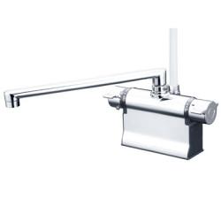 浴室 水栓 シャワー 水栓金具 KVK 【KF3011TR3】 デッキ形サーモスタット式シャワー(可変ピッチ式)