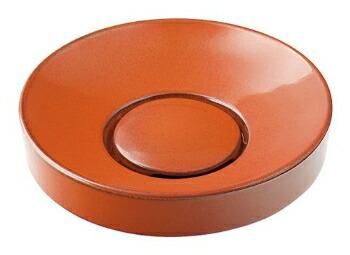 手洗い器 和風 カクダイ 手洗器 【493-016-R】 丸型手洗器//鉄赤
