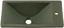 手洗い器 和風 カクダイ 手洗器 【493-010-YG】 角型手洗器//松葉
