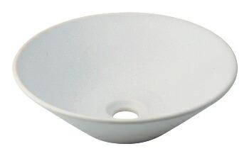 手洗い器 和風 カクダイ 手洗器 【493-037-W】 丸型手洗器//月白