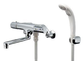 水栓 混合栓 カクダイ 水栓金具 【173-062K】 サーモスタットシャワー混合栓