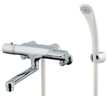 水栓 混合栓 カクダイ 水栓金具 【173-061】 サーモスタットシャワー混合栓