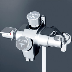 浴室 水栓 シャワー 水栓金具 KVK 【KF3040N】 自閉式サーモスタット式シャワー