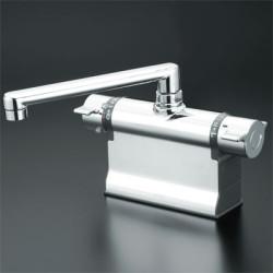 史上一番安い 浴室 水栓 シャワー 水栓金具 KVK 【KM3011T】 デッキ形サーモスタット式混合栓:RH家電SHOP店-木材・建築資材・設備