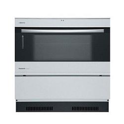 オーブンレンジ 電気 ビルトイン パナソニック Panasonic  NE-DB901W(ケコミ部:シルバー) 本体カラー:シルバー 200Vタイプ 容量33L スチーム機能付き キッチン高さ対応:800~900mm