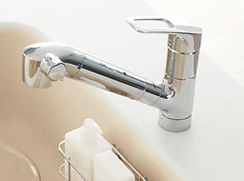 浄水器 トクラス 【AWJSP1HSTK】水栓一体タイプ 内臓シャワー混合水栓 寒冷地用 エコシングル水栓