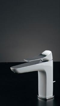 カクダイ(KAKUDAI)水栓金具シリーズ【183-180K】日本デザイン雪シングルレバー混合栓