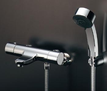 蛇口 水栓金具 カクダイ(KAKUDAI) 水栓金具シリーズ 【173-246K】 日本デザイン 雪 サーモスタットシャワー混合栓