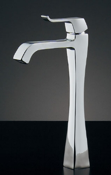 蛇口 水栓金具 カクダイ(KAKUDAI) 水栓金具シリーズ 【716-240-13】 日本デザイン RATONA シングルレバー立水栓