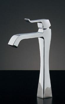 蛇口 水栓金具 カクダイ(KAKUDAI) 水栓金具シリーズ 【716-238-13】 日本デザイン RATONA シングルレバー立水栓