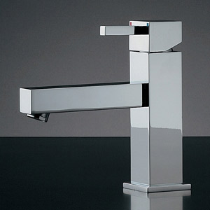 蛇口 水栓金具 カクダイ(KAKUDAI) 水栓金具シリーズ 【183-088】 シングルレバー混合栓