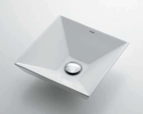 手洗い器 和風 カクダイ 角型手洗器 【493-085】
