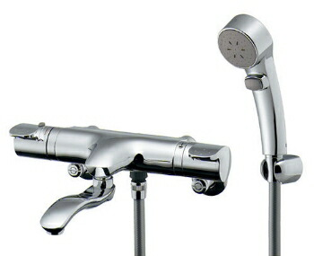 混合栓 シャワー カクダイ サーモスタットシャワー混合栓(壁付) 【173-232K】