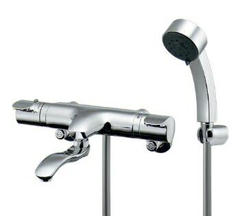 混合栓 シャワー カクダイ サーモスタットシャワー混合栓(壁付) 【173-215】