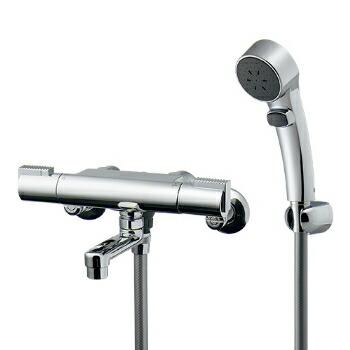 混合栓 シャワー カクダイ サーモスタットシャワー混合栓(壁付) 【173-233K】