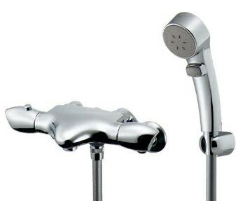 混合栓 シャワー カクダイ サーモスタット混合栓(壁付) 【173-235K】